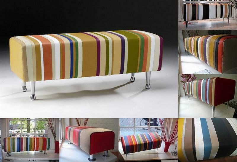 Tike Design Footstools, Amsterdam