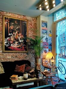koffiehoekje, zeedijk, amsterdam