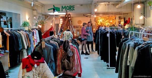 vintage mode en brocante, zeediijk, amsterdam