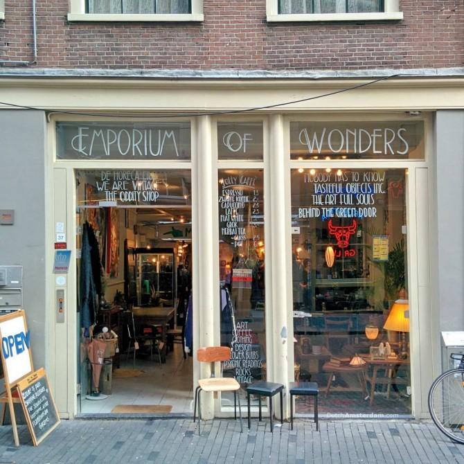 Emporium of Wonders, Zeedijk, Amsterdam